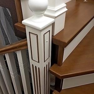 лестница из дерева в дом в Астрахани на заказ. www.лестницы-астрахани.рф. www.вектор30.рф