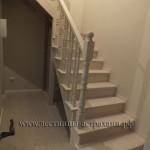 лестница в дом из дуба и ясеня в Астрахани. www.лестницы-астрахани.рф www.вектор30.рф