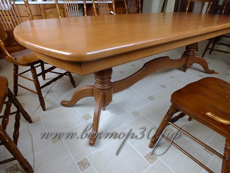 Столы из массива древесины