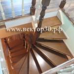 винтовые лестницы из дерева в Астрахани