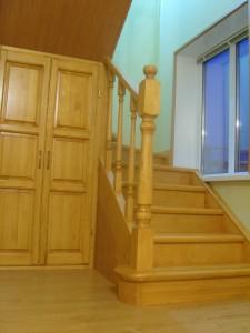 Встроенный шкаф под лестницей.Очень нужная вещь в хозяйстве