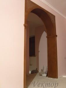 арка в прямой проём вставить, Астрахань